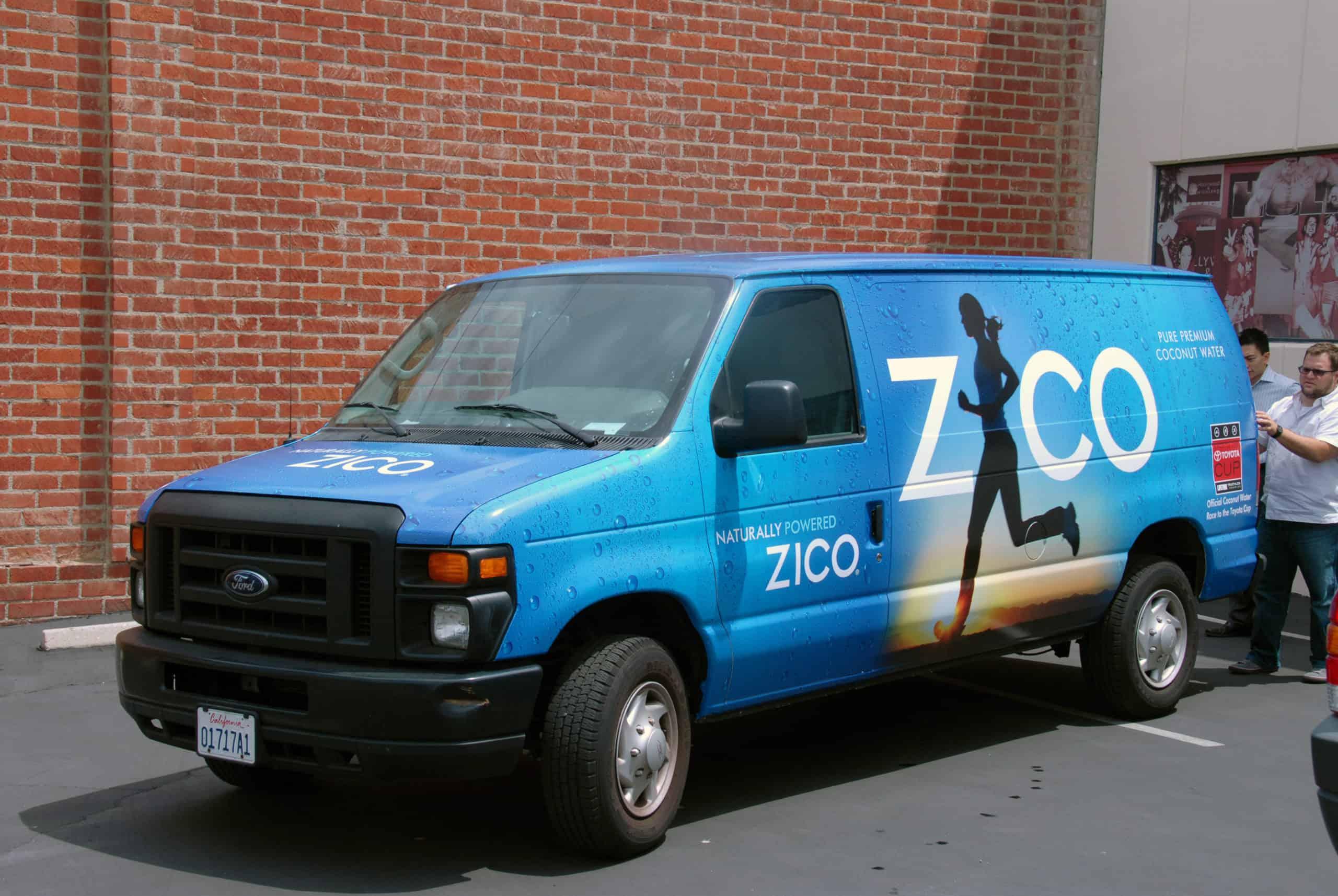 ZICO hired Platon Graphics to do their fleet graphics