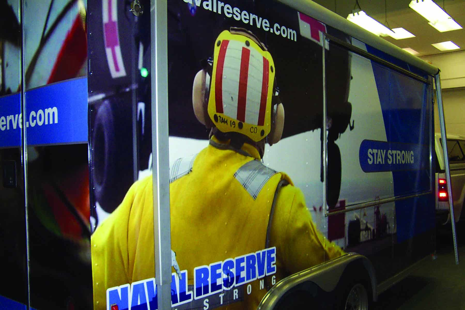 Air Reserve - Hired Platon Graphics to do their outdoor advertising