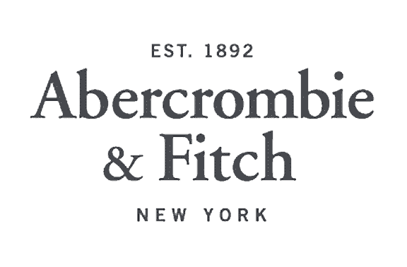 Abercrombie & Fitch logo - Abercrombie & Fitch hired Platon Graphics to start designing their banners