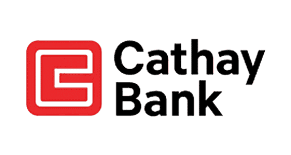 Cathay Bank logo - Cathe Bank recruited Platon Graphics to do their quality banner printing