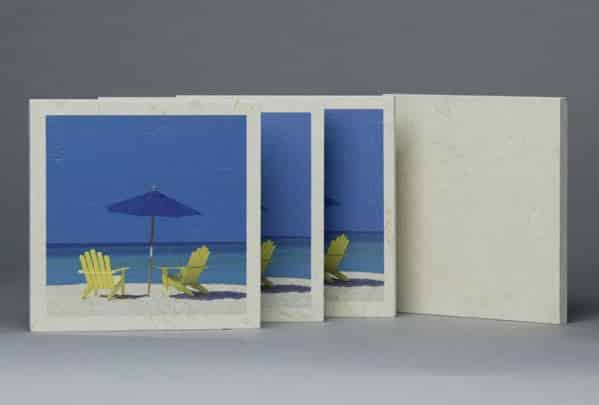 custom made ceramic tiles of the beach.