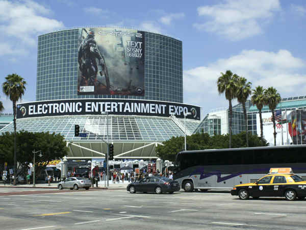A high quality banner for EA at the E3 show