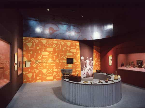 Los Angeles County Museum of Arts – exhibit of children's musical instruments. hired Platon Graphics for their custom graphics.