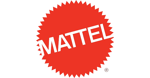 Mattel logo - Mattel has been using Platon Graphics for their format printing