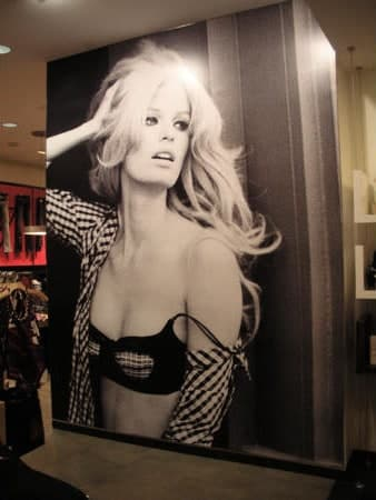 Get huge lifestyle image to display in your retail store