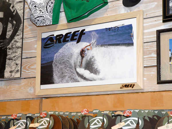In the highly competitive surf, and skate show keeping your images and brand fresh is critical