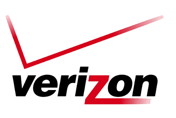 Verizon logo - Verizon hired Platon Graphics to do their large format printing