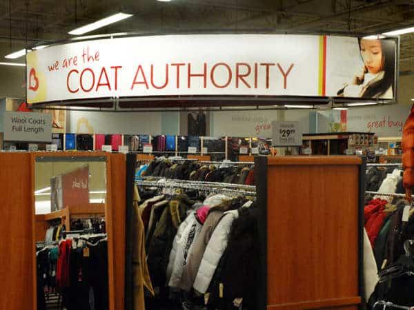 Burlington Coat Factory used Platon Graphics to help them re-brand