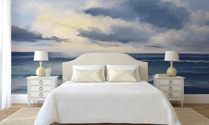 personalized murals with islands