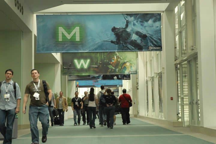Platon graphics was hired to create custom banners for a gaming convention
