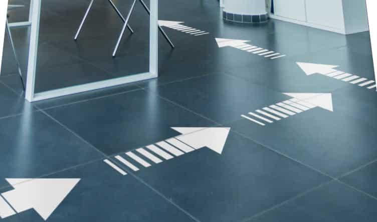 Floor Sticker Arrows